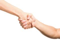 przyjaciela uścisk dłoni zdjęcie royalty free