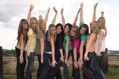 przyjaciele Fotografia Stock