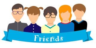 przyjaciele Zdjęcie Royalty Free