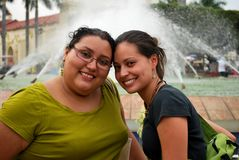 przyjaciele latynoscy Fotografia Stock