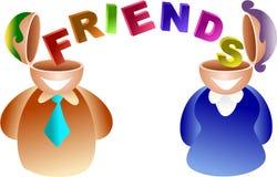przyjaciele mózgu ilustracji