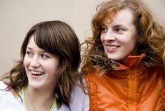 przyjaciele nastolatków. Obraz Stock