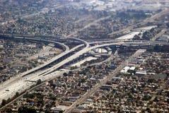 Przyjazd Los Angeles Zdjęcie Royalty Free
