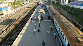 Przyjazdu pociąg zbiory