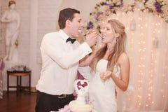 Przyjęcie weselne Obrazy Royalty Free