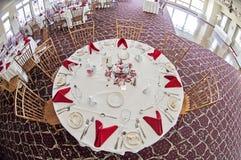 Przyjęcie weselne stół Zdjęcie Stock