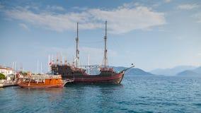 Przyjemność statek w Marmaris Zdjęcia Royalty Free