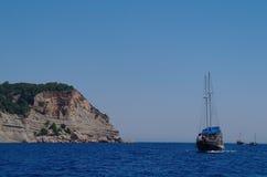 Przyjemność turecki jacht obrazy stock