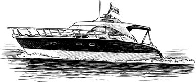 Przyjemności łódź Zdjęcia Stock