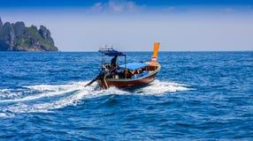 Przyjemności łodzie Zdjęcia Royalty Free