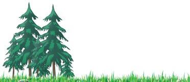 przyjemny drewna royalty ilustracja