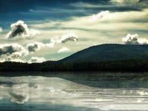 Przyjemny jezioro Fotografia Royalty Free
