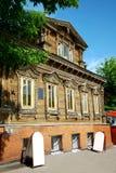 przykład budynku wieka przykład drewniany Fotografia Royalty Free