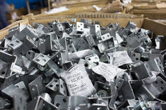 Przykłady używać w manufakturze metal sylikatowy gel Zdjęcie Stock