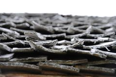 Przykład drewniany dach Zdjęcie Stock