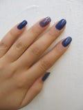 Przykład dzienny manicure Obraz Royalty Free