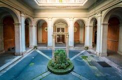 Przyklasztorny kościół Sant ` Agata dei Goti w Rzym, Włochy Zdjęcia Royalty Free
