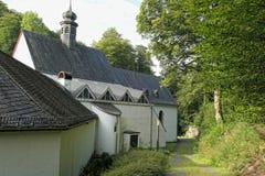 Przyklasztorny Martental przy wilde Endert doliną przy Moselle eifel Regio Obraz Royalty Free