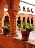 Przyklasztorny monaster los angeles Rabida, Huelva prowincja, Hiszpania fotografia royalty free