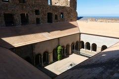 Przyklasztorny opactwo Sant Pere De Rodes, Hiszpania fotografia stock