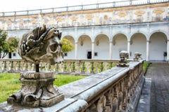 Przyklasztorny San Martino szartrezy w Naples Obraz Stock