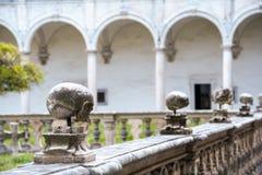 Przyklasztorny San Martino szartrezy w Naples Zdjęcie Royalty Free