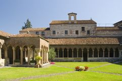 przyklasztorny San Verona Zeno Obraz Royalty Free