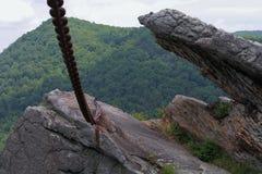 Przykuwająca skała Zdjęcia Stock
