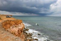 Przylądek Hersones w Crimea zdjęcia royalty free