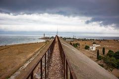 Przylądek Hersones w Crimea fotografia stock