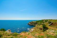 Przylądek Yaylata, Bułgaria obraz stock