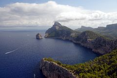 Przylądek De Formentor zdjęcia royalty free