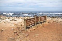 Przylądek Dobra nadzieja podpisuje wewnątrz Południowa Afryka Obrazy Stock