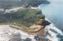 Przylądek dobry nadziei Południowa Afryka widok z lotu ptaka Fotografia Royalty Free