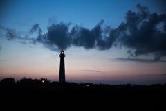 Przylądek może latarnia morska obrazy royalty free