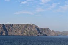 przylądek północ Norway zdjęcia stock