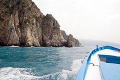 Przylądek Palinuro, Włochy zdjęcia stock