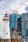Przylądków kręgli zieleni latarnia morska w Sydney, Australia zdjęcia stock