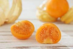 Przylądka agresta pęcherzycy owoc żywności organicznej zmielony czereśniowy vegetabl Zdjęcia Stock