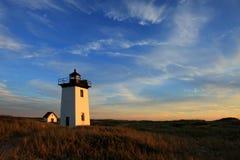 przylądka dorsza latarnia morska Fotografia Stock