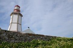 Przylądka Espichel latarnia morska fotografia royalty free