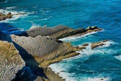 Przylądka Espichel ostrza skała Fotografia Stock