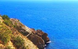 Przylądka Fiolent Crimea półwysep Obrazy Royalty Free