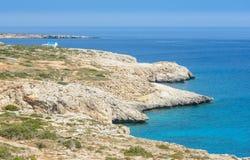 Przylądka greco widok   zdjęcie stock