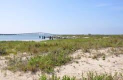 Przylądka Hatteras Krajowy Seashore, Pólnocna Karolina fotografia stock