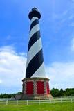 Przylądka Hatteras latarnia morska fotografia royalty free