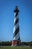 Przylądka Hatteras latarnia morska obrazy royalty free