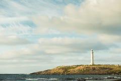 Przylądka Leeuwin latarni morskiej wschód słońca Augusta obrazy stock