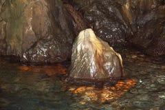 Przylądka Palinuro jama, Włochy zdjęcia stock