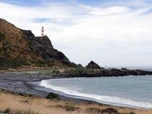 Przylądka Palliser latarnia morska zdjęcia stock